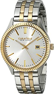 Caravelle New York Men's 45B129 Analog Display Analog Quartz Two Tone Watch