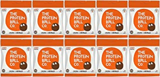 The Protein Ball Co. High Protein and Vitamin Cacao and Orange Protein Balls (Pack of 10), 450 g