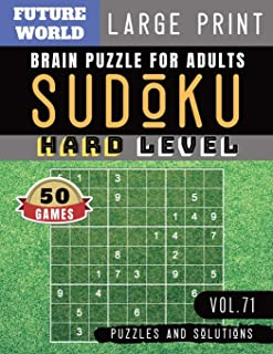 Sudoku Hard: killer sudoku large print   Sudoku Puzzles for memory brain health games for Adults & Seniors and Sudoku Solver (Sudoku Puzzles Book Large Print Vol.71)