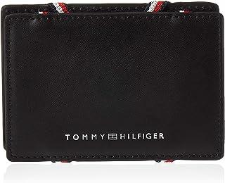 Tommy Hilfiger Flip Card Holder for Men-Black