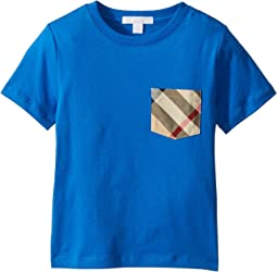 Burberry Kids - Short Sleeve YNG Tee (Little Kids/Big Kids)