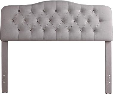Rosevera Givanna Upholstered Headboard, King, Beige
