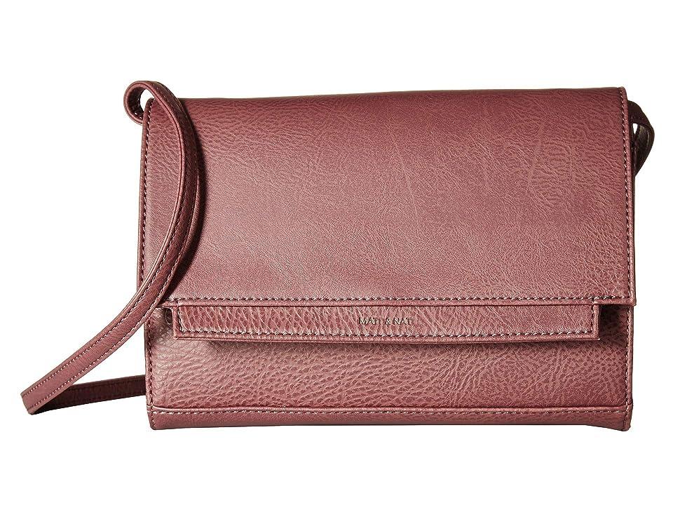 Matt & Nat Dwell Silvi (Fig) Handbags