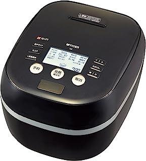 タイガー 炊飯器 5.5合 土鍋圧力IH 炊き分けメニュー プレミアム本土鍋 ブラック 炊きたて  JPH-A100-K