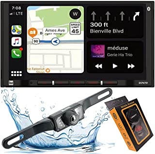 $199 » Dual DCPA701 7-Inch Single-DIN in-Dash Digital Media Receiver with Bluetooth, Android Auto and Wired Mirror Phone to The U...