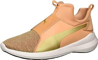 PUMA Unisex Rebel Mid Glow Kids Sneaker