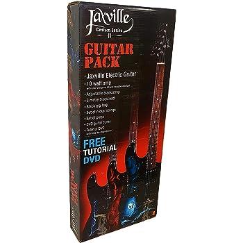 Pack de guitarra electrica Jaxville ST1HDPK amplificador, funda ...