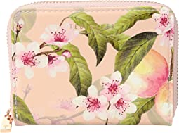 Ted Baker - Peach Blossom Small Zip Purse