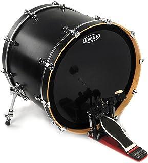 Evans EMAD Onyx Bass Drum Head, 20 Inch - BD20EMADONX