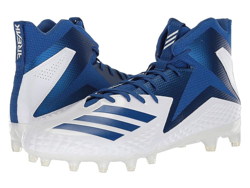 adidas Freak x Carbon Mid (Footwear White/Collegiate Royal/Collegiate Royal) Men