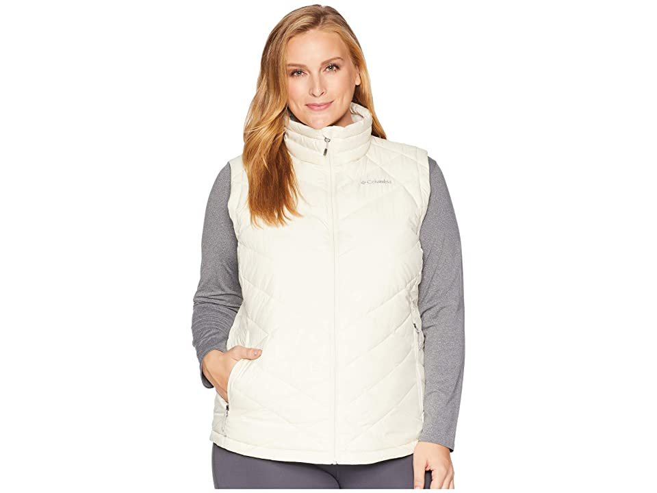 Columbia Plus Size Heavenly Vest (Light Bisque) Women