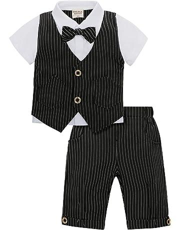 13471620c2d8e9 ベビーフォーマル 半袖 夏用ロンパース ベビー服 結婚式服 フォーマルスーツ 洋装フォーマル 紳士スーツ