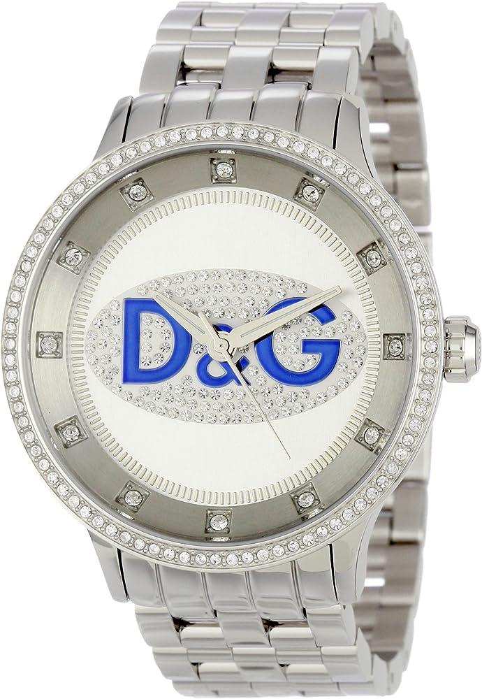 Dolce & gabbana orologio uomo acciaio inossidabile prime time watch DW0133