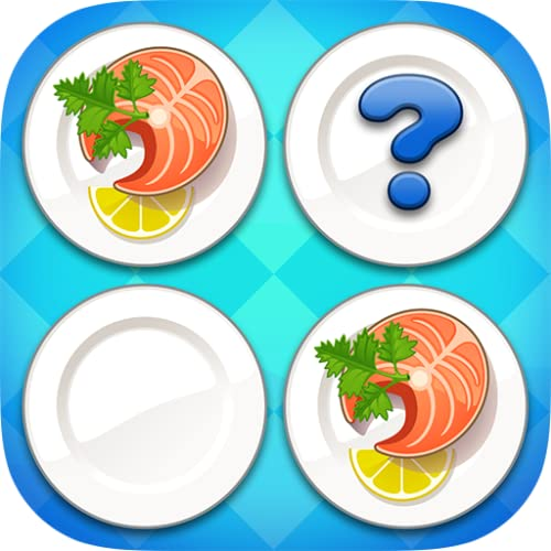 Brain game & Memory training for adults : Tasty Food #2 *Free