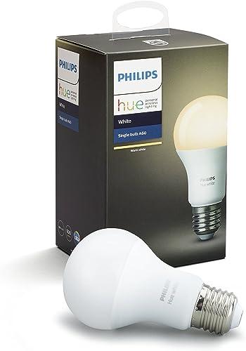 Philips Hue White Edison Screw (E27) Dimmable LED Smart Bulb (Compatible with Amazon Alexa, Apple HomeKit and Google ...