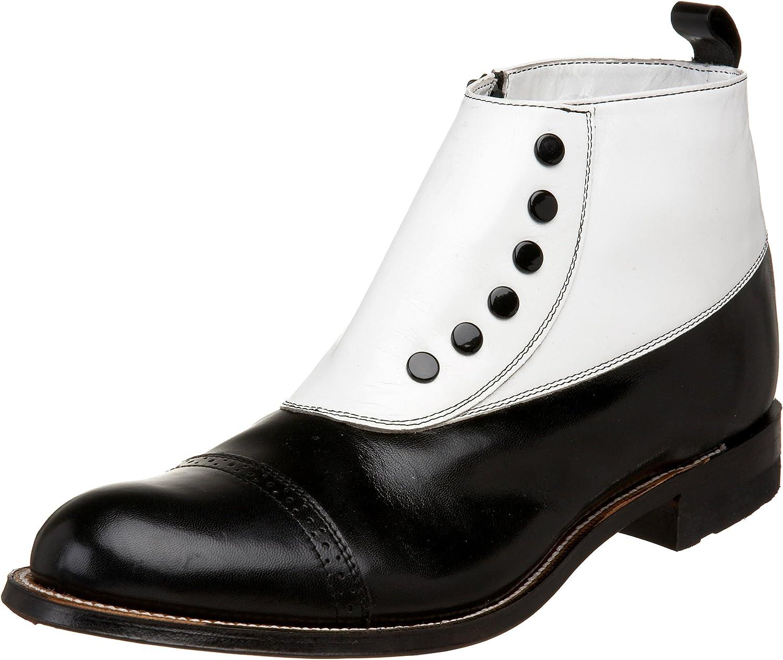 Stacy Adams Men's Madison Cap-Toe Spat Boot