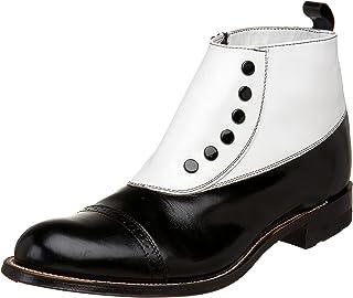 Stacy Adams Mens Madison Cap-Toe Spat Boot