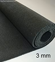 Sch/ürfleiste Gummiauflage Gummistreifen in der Gr/ö/ße 5000x120x5mm Hartgummi Gummimatte Vollgummi Gummiplatte