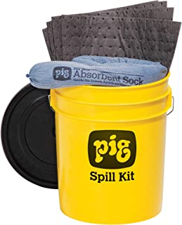 New Pig Spill Kit in 5-Gallon High-Visibility Container - PM50244