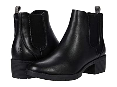Hush Puppies Hadley Chelsea (Black Leather) Women