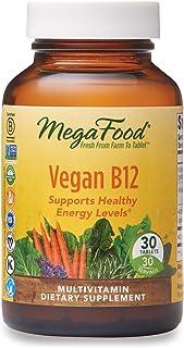 Vegano B12. 30 Tabletas - MegaFood