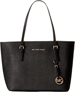 Michael Kors Jet Set Small Luggage Saffiano Leather Travel Tote