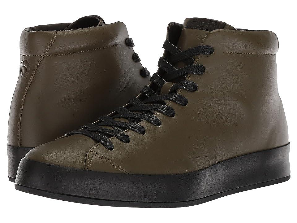 rag & bone RB1 High Top Sneakers (Army Smooth Nappa) Men