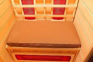 Radiant Saunas SA7001 1-Person Sauna Seat Cushion, One Size, Brown