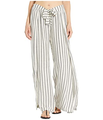 BECCA by Rebecca Virtue Getaway Mock Wrap Pants Cover-Up (Multi) Women