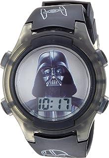 Boys' Quartz Watch with Plastic Strap, Black, 18 (Model:...