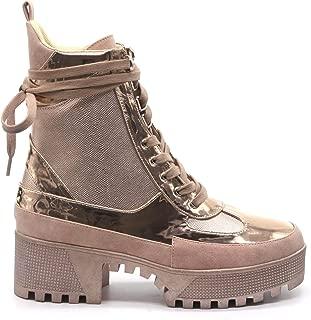 Cape Robbin Kingpin Women's Chunky Platform Block Heel Ankle Boots
