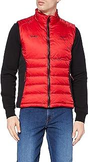 Hackett London Men's Amr Apex Moto Gilet Jacket