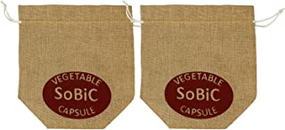 SoBiC(ソビック) 培養土専用巾着袋 交換用2枚セット[ 無電源野菜栽培キットSoBiCオーガニックプランター専用野菜カプセル用] O-004