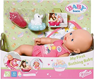 Baby Born 827345 First Bathing Baby 30cm, Multi
