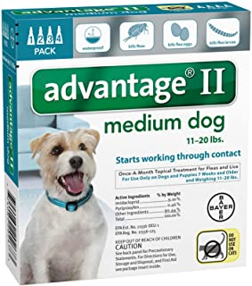 Bayer Animal Health Advantage II Medium Dog 4-Pack