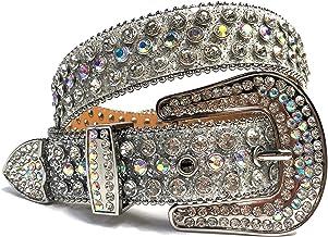 YUMYSANG Damesriem mode luxe riem western-klinknagels riem cowgirl cowboy bling riem voor vrouwen mannen decor