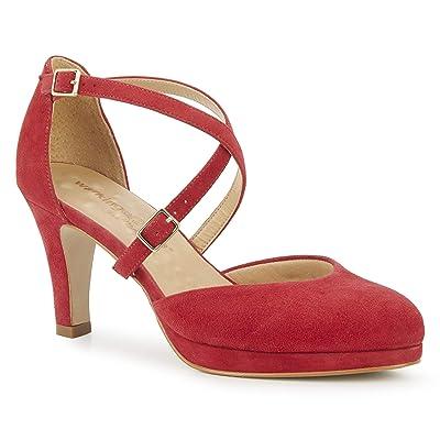 Walking Cradles Pammy (Red Suede) Women