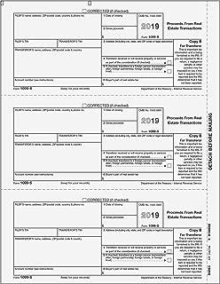 1099-S Transferor Copy B for 50 Recipients