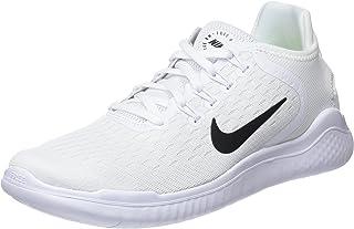 45526807c5f3ea Nike Free Rn 2018 Sz 6 Womens Running White Black Shoes