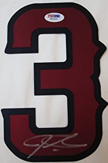 Josh Hamilton signed Los Angeles Angels autographed jersey number - PSA Authenticated