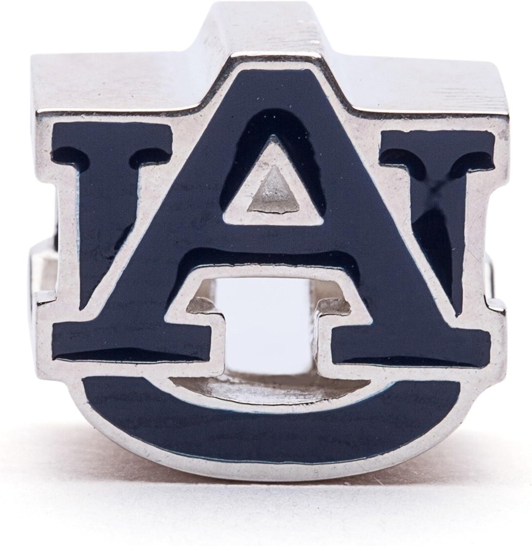 Auburn Ranking Max 47% OFF integrated 1st place University Charm Block Blue AU