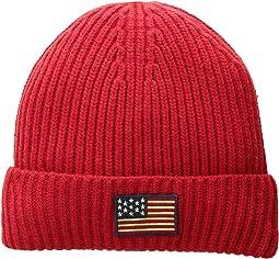 American Flag Cuff Hat