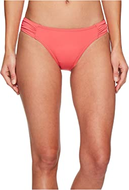 Tommy Bahama Pearl Side-Shirred Hipster Bikini Bottom