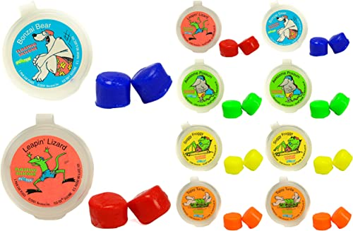 Putty Buddies Floating Earplugs 10-Pair Pack - Soft Silicone Ear Plugs for Swimming & Bathing - Invented by Physician...