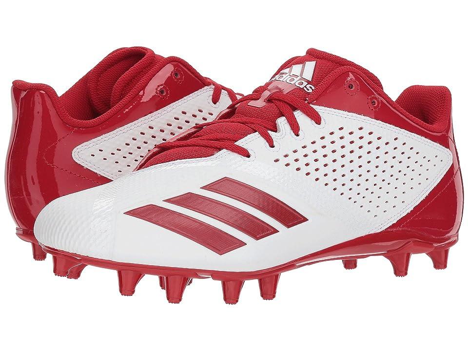 adidas 5-Star (Footwear White/Power Red/Silver Metallic) Men