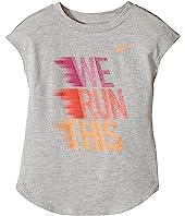 Nike Kids - We Run This Modern Short Sleeve Tee (Little Kids)