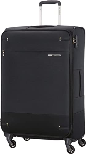 Samsonite Base Boost - Spinner L Valise Extensible, 78 cm, 105/112,5 L, Noir (Black)