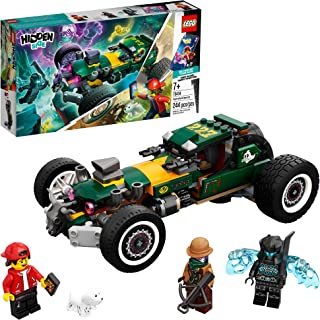 LEGO Hidden Side Supernatural Race Car 70434, Popular Augmented Reality (AR) Ghost Toy, App-Driven Ghost-Hunting Kit, Incl...