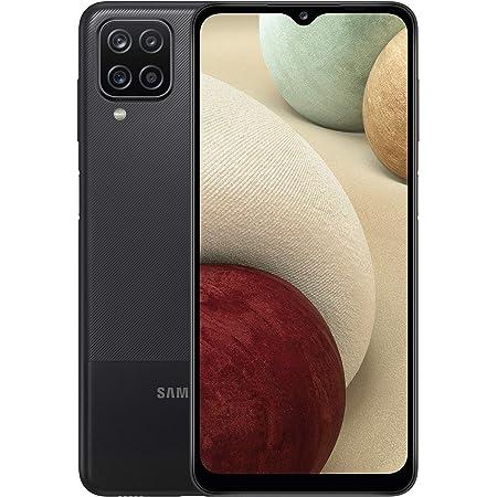 Samsung Galaxy A12 SIM Free Android Smartphone Black (UK Version) (Renewed)