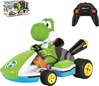 Carrera RC 162108 Official Licensed Mario Kart Yoshi Race Kart 1:16 Scale 2.4 GHz Splash Proof Remote Control Car Vehicle ...